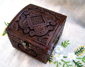 Ring bearer box Wedding ring box Wedding ring holder Wedding jewelry box Ring bearer pillow Wedding wooden box Jewellery box Wood box B21