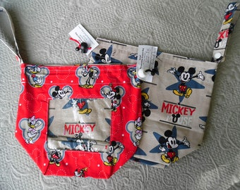 "Small Reversible WIP bag, ""mickey"""