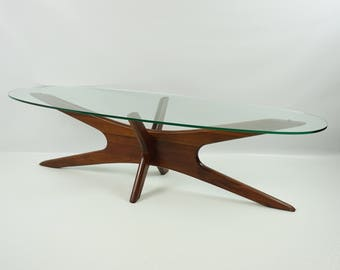 Adrian Pearsall coffee table / Mid Century modern table / Mid Century Jack table / Eames era 60s / Jacks coffee table set