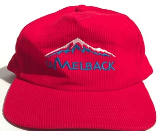 Vintage Camelback Corduroy Snapback Hat