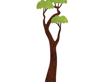 ON SALE Jungle Tree Wall Sticker Decal (SKU: 186-42)