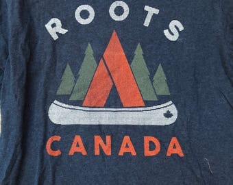 Roots Canada T Shirt Size S