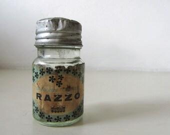 Vintage Italian Glass Jar