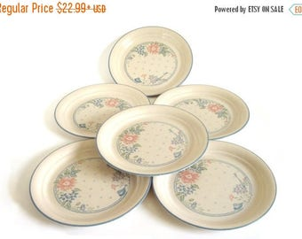 SALE Corelle Symphony Dishes Luncheon Plates Dinner Plates Set (as-is)