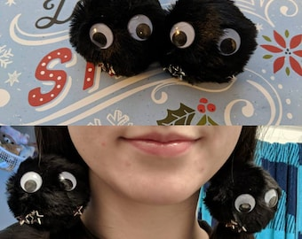 Soot Sprite Hair Pompom puff accessory