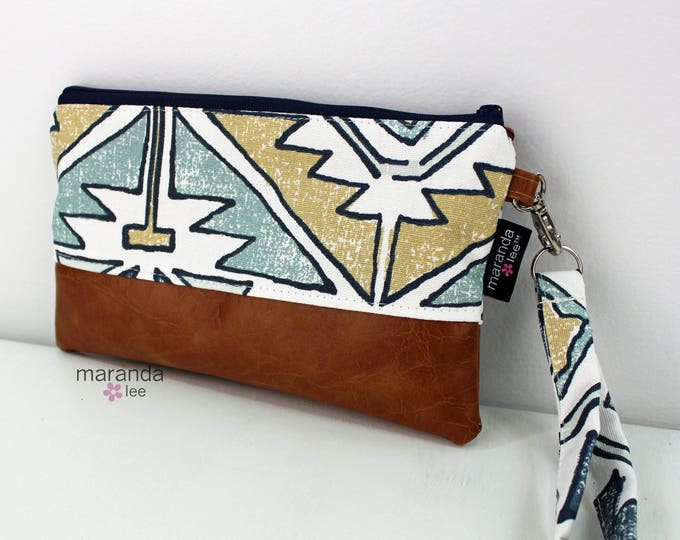 Flat Clutch - Soul Blue READY to SHIp