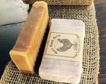 RISE & SHINE Goat's Milk Soap Superfatted with Castor Oil