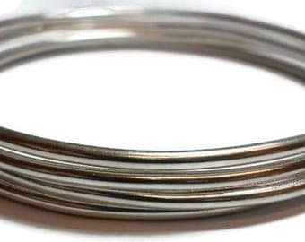 4 classic silver bangles stack