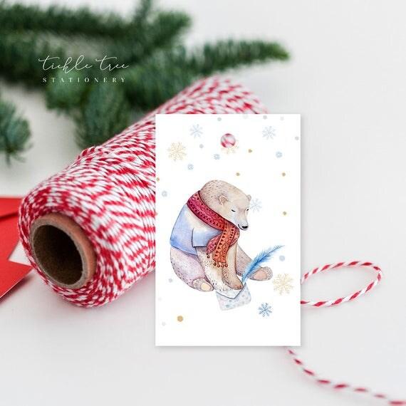 Christmas Gift Tags - A Beary Christmas to You!