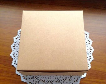 10 Paper krafts boxes for party , gift,souvenir,handmade items