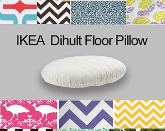 Custom Dihult Slipcover, Customized Ikea Floor Pillow Covers, Custom Ikea Beanbag Covers, Colorful Ikea Slipcovers, Ikea Dihult Covers