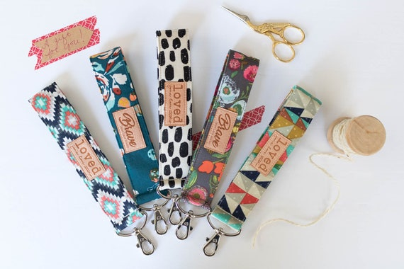 Bundle of 5 Key Fobs | Choose Your Fabric