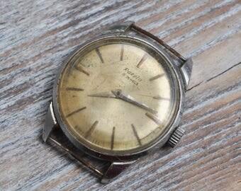 RAKETA Vintage Soviet Russian wrist watch for parts. Didn't work.