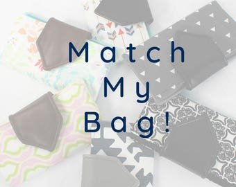 Basic Wallet - you choose - vegan leather - match your bag