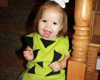 Pebbles costume green shorts 9 month