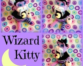 Wizard Kitty Amigurumi Plush