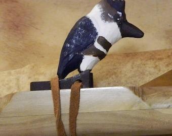 Native American Style Flute in Eb minor Pentatonic with Kingfisher block