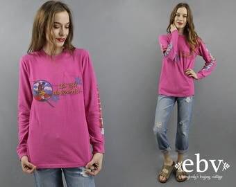 Vintage T Shirt Vintage Tee Longsleeve T Shirt Vail Colorado Skiier Gift Ski Gift Vail T Shirt Ski Shirt Skiing Gift Downhill Skiing S M