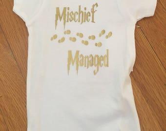 Mischief managed bodysuit
