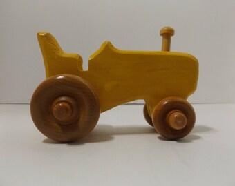 Yellow Mini Tractor