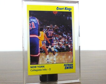 1990 Patrick Ewing Star Co. Card Basketball NBA New York Knicks 43