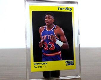 1990 Patrick Ewing Star Co. Card Basketball NBA New York Knicks 40