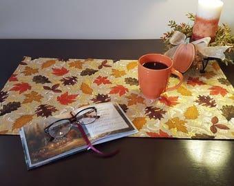 Fall Table Scarf, Harvest Table Scarf, Autumn Table Scarf