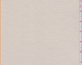 Beige Linen, Fabric By The Yard