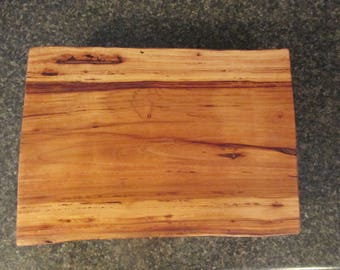Aged Hickory Footed Cutting Board