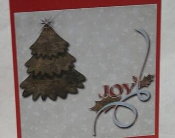 Joy Card Handmade Digital Photo Card