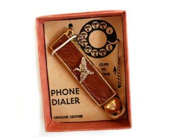 vintage rotary phone dialer, rotary phones, 1970's telephones, phone dialer ball, vintage telephone accessories, old school phones