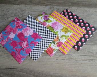 Snail Mail Envelopes >> set of 5, Snail Mail, Penpals, Stationery, Envelopes