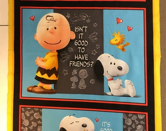 Peanuts Gang Good Friends Panel