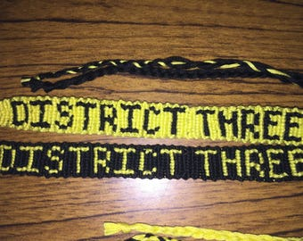 District Three: The Hunger Games Bracelet