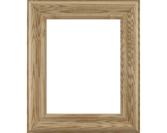 "Craig Frames, 12x16 Inch Raw Wood Picture Frame, Wiltshire N, 2"" Wide (801630001216)"