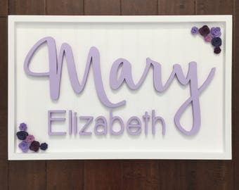 Wood Name Sign Baby Gift Baby Shower Newborn Photography Nursery Name Letters Wood Sign Personalized Boy Girl Babies Wall Letter Large Size