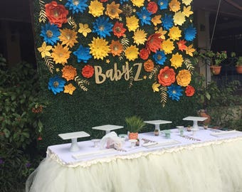 Tulle table skirt for all your events