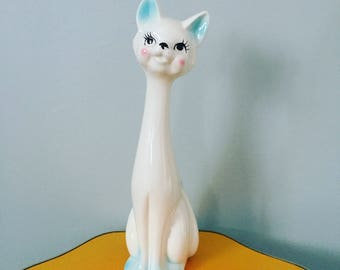 Kitsch Long Necked Cat