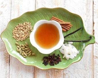 Coconut Chai Tea, SIAM CHAI, Organic,  Black Tea, Thai Chai, Hand Blended, Vanilla, Coconut,Spiced Tea, Iced Tea, Chai Latte, Tropical Tea