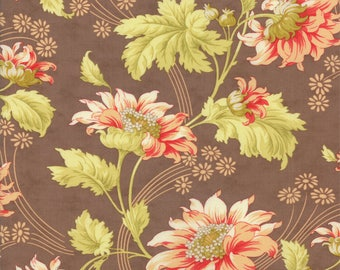 1/2 Yard - Honeysweet Autumn Rose - Hazel by Fig Tree Quilts for Moda Quilt Fabric