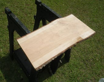 UNFINISHED Live Edge CHERRY Slab, Live Edge Set, Perfect for Diy, Raw Wood Slab, Wood Workers Delight, Rustic Shelf 200