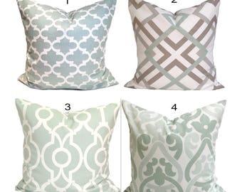 GREEN Pillows. Green Decorative Pillow Cover.Green Cushion Cover, Light Green Pillow, Artichoke Green Pillow Cover.Green Cushion Cover.Sham