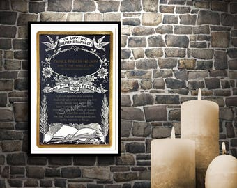 Sympathy Gift - Lilies Doves Book of Life - Sympathy Gifts - Mansion in the Sky Poem