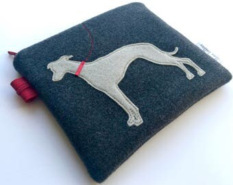 Whippet Coin Purse pouch