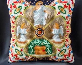 Resurrection inspired by Fabergé Mini Cushion Cross Stitch Kit