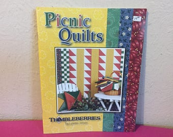 Picnic Quilts ~ 8 Projects Quilts Coasters and More, Thimbleberries Quilt Patterns
