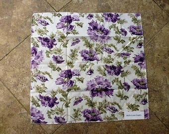 Ralph Lauren Floral Fabric Sample or Remnant  25 by 25 Inches