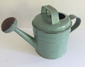 Vintage Small Metal Watering Can