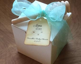 Tea Party Baby Shower - Tea & VT Honey Gift Box Favor-Wedding-Bridal Shower-Baby Shower-Belle Savon Vermont