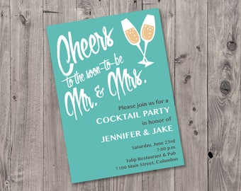 Printable Engagement Party Invitation